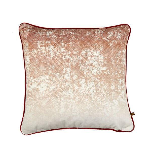 Okuta Copper cushion by Eva Sonaike RenkoLondon