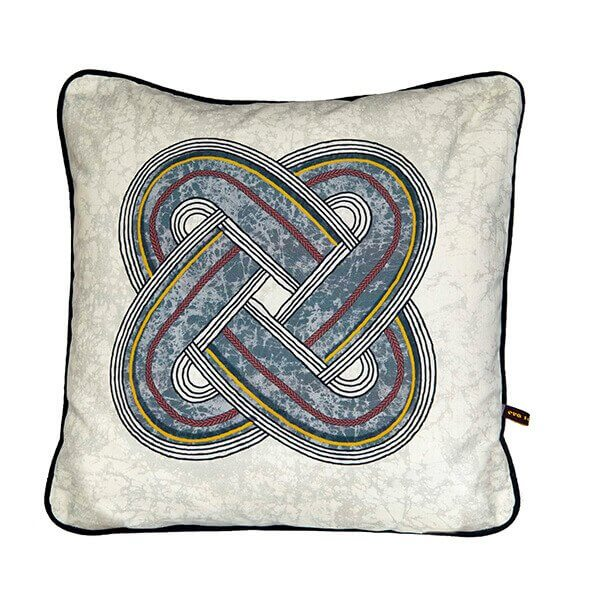 Osupa Cushion Grey by Eva Sonaike RenkoLondon