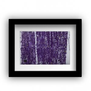 Purple Abstract by Devrim Erbil at RenkoLondon