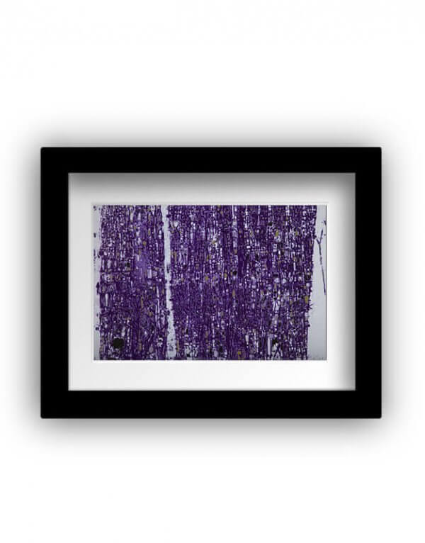 Purple Abstract by Devrim Erbil at RenkoLondon