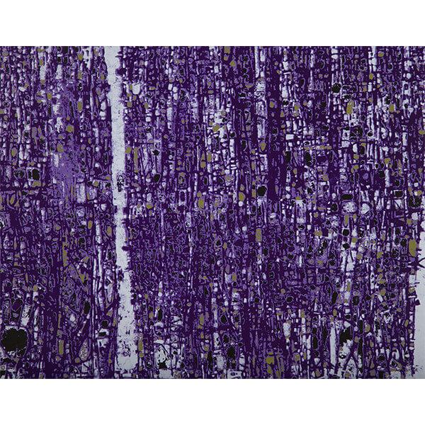 Purple Abstract by Devrim Erbil RenkoLondon