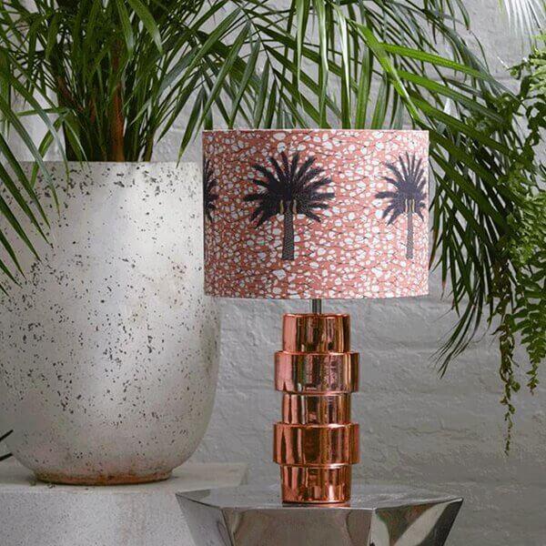 Aburi Copper Lamp Shade by Eva Sonaike at RenkoLondon New