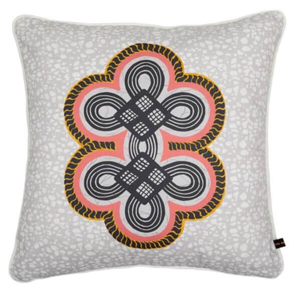 ONA Cushion Grey by Eva Sonaike at RenkoLondon New Arrivals