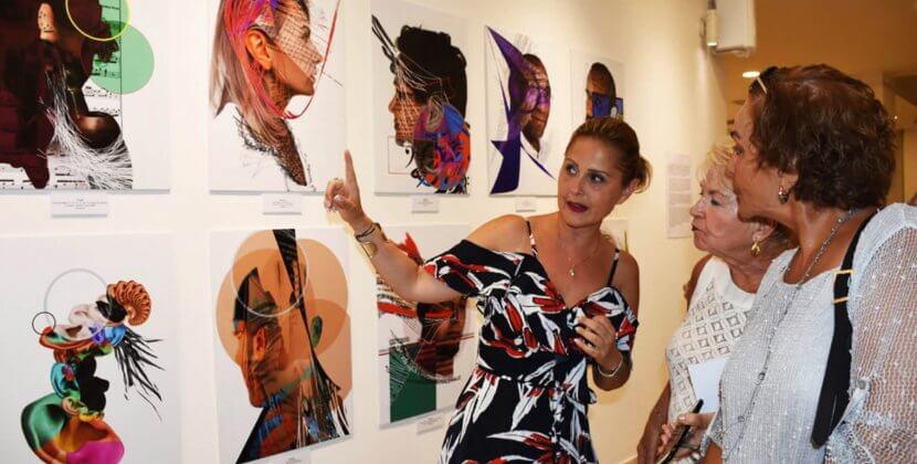 Renk Erbil Listen Live Repeat Exhibition in Bodrum RenkoLondon